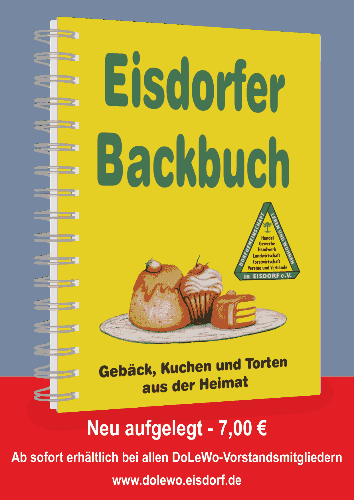 Backbuch Flyer